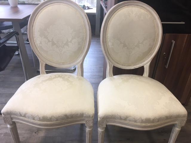 Stühle weiß – nachhher