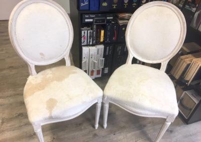 Esszimmerstühle vorher