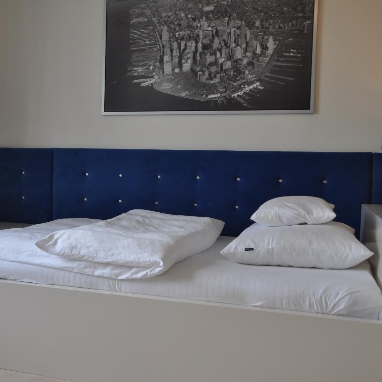 Bettpolsterung