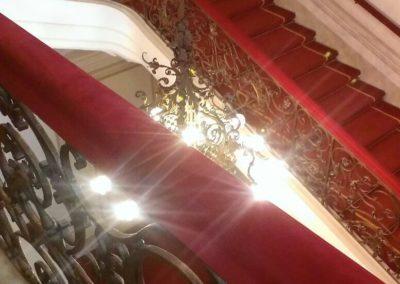 Stufenteppich in der Hofburg
