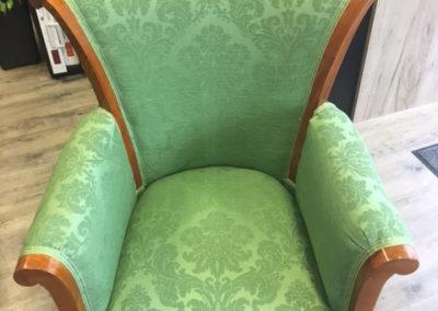 Stilvoller Sessel nachhher